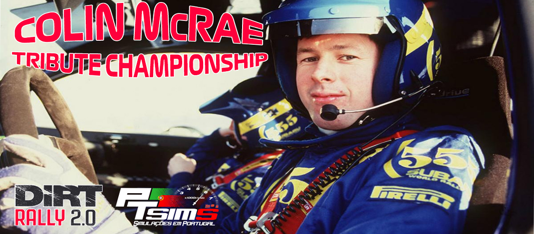 PTSims – Colin McRae Tribute, Dirt Rally 2