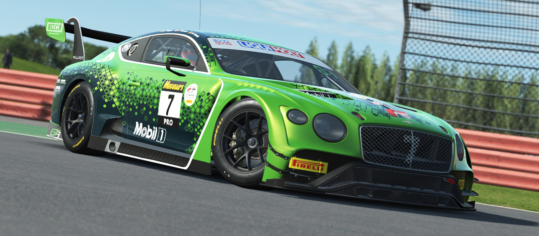 rFactor2 – Bentley 2020 GT3 e BOP