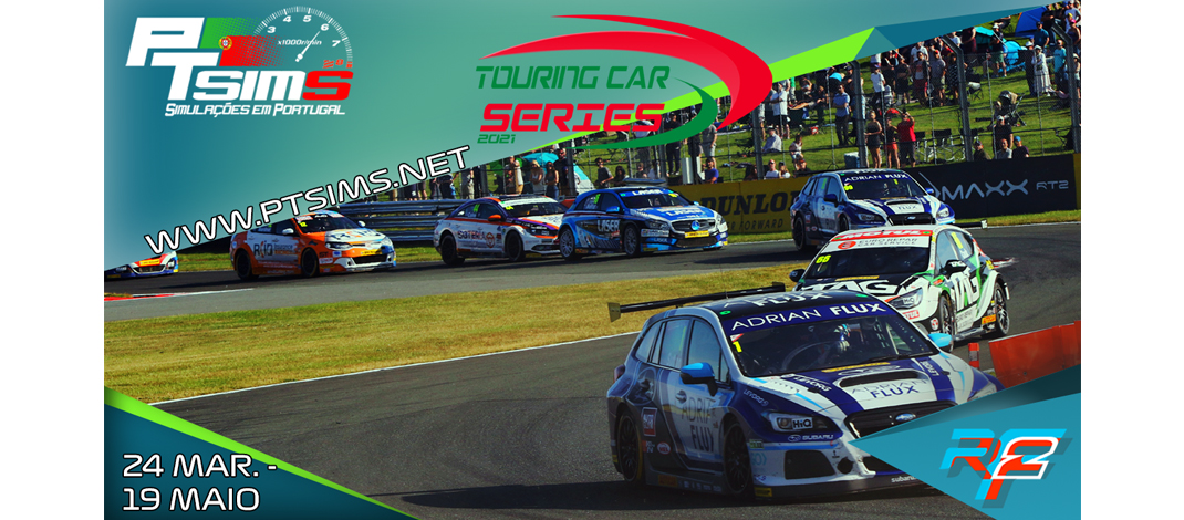 PTSims – Touring Car Series 2021, rFactor2