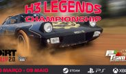 PTSims – H3 Legends Championship, Dirt Rally 2